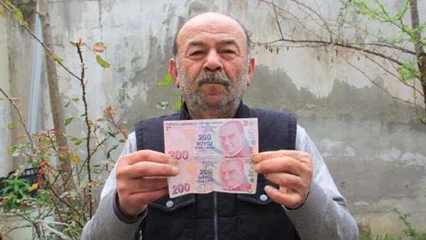 200 TL'lik hatalı banknot 55 bin liraya satışta!