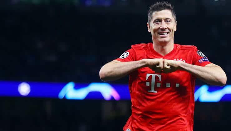Şampiyonlar liginde ondan Lewandowski'den daha iyisi yok!