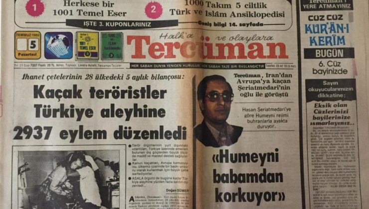 BU DA TERCÜMAN'IN 1001 TEMEL ESERİ