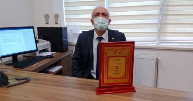Türk adademisyene prestijli ödül
