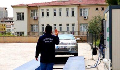 Türkiye'de bir ilk: Okula egzoz emisyon istasyonu kurdular