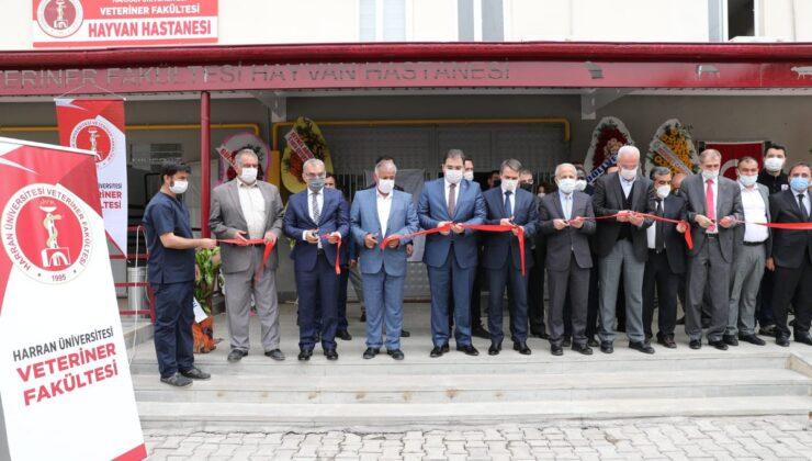 HRÜ'de tam teşekküllü hayvan hastanesi açıldı