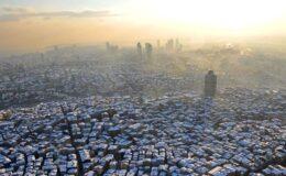 Salgının birinci yılında hava kirliliği araştırması