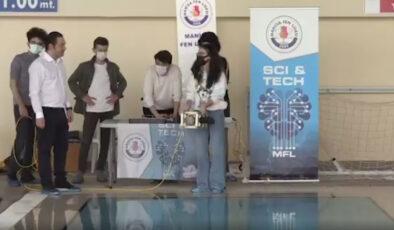 Lise öğrencileri insansız su altı robotu geliştirdi