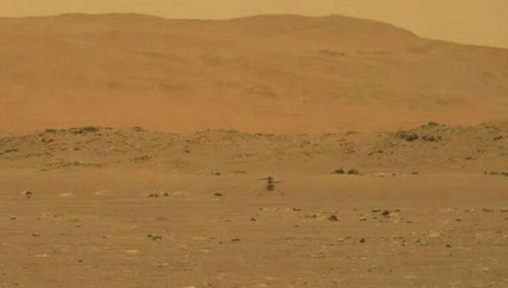 Mars'ta tarihi uçuş