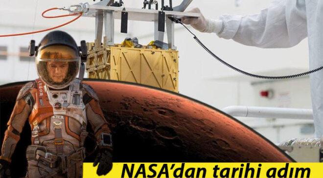 Mars'ta oksijen üretildi