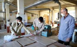 Meslek liselilerden evlere yardım
