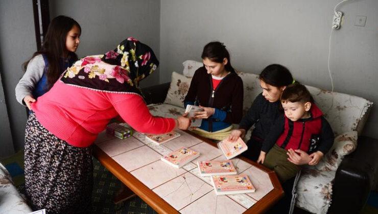 Özel öğrencilere evde özel eğitim