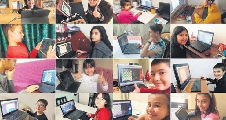 Satranç turnuvasına 24 bini aşkın öğrenci katıldı