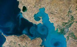 Van Gölü'ne yoğun ilgi: NASA'nın sitesi çöktü