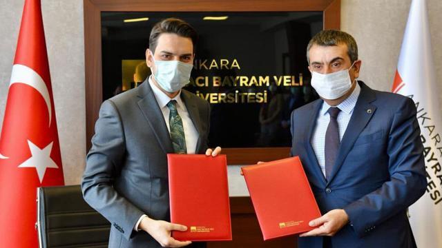 YTB ve Hacı Bayram Veli Üniversitesi'nden iş birliği