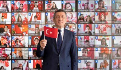 Bakanı Selçuk, çocuklarla çevrimiçi buluştu